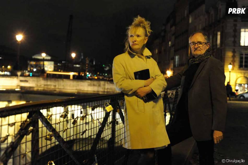 """No drama """"Um Fim de Semana em Paris"""",Jim Broadbent e Lindsay Duncan dão vida a um casal que está junto há 30 anos"""