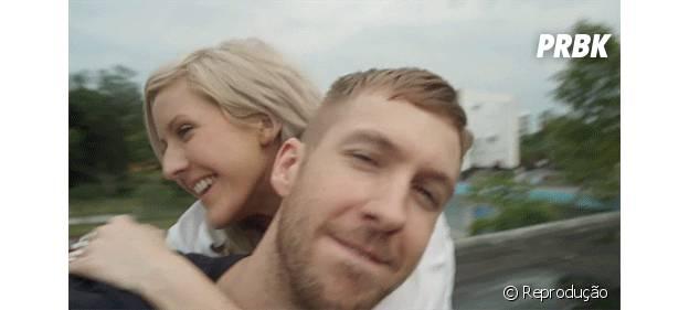 Calvin Harris e Ellie Goulding parceria