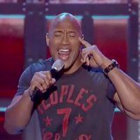 "Dwayne Johnson, de ""Velozes & Furiosos 7"", dubla Taylor Swift em programa de TV americano"