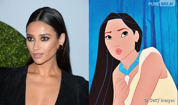 Não dá pra pensar em alguém melhor do que a Shay Mitchell para interpretar a Pocahontas nas telonas, né?