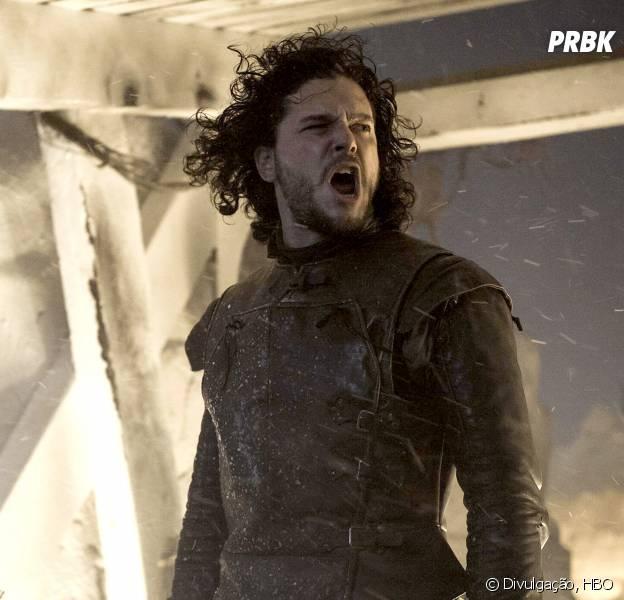 """Jon Snow (Kit Harington) é quem ganha mais destaque nos primeiros episódios da 5ª temporada de """"Game of Thrones"""""""