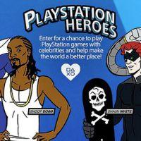 """Que tal jogar """"FIFA 15"""" contra Snoop Dogg? """"PlayStation Heroes"""" de abril vai descolar esse encontro"""