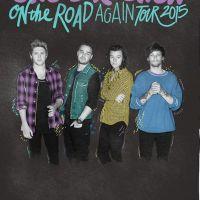 "Sem Zayn Malik, One Direction divulga novo pôster da turnê ""On The Road Again"""