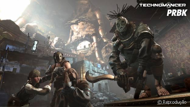 """Tribos marcianas em """"The Technomancer"""", o novo Action RPG da Spider Games"""