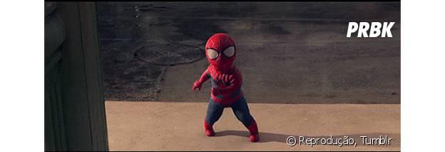 Homem-Aranha jovem