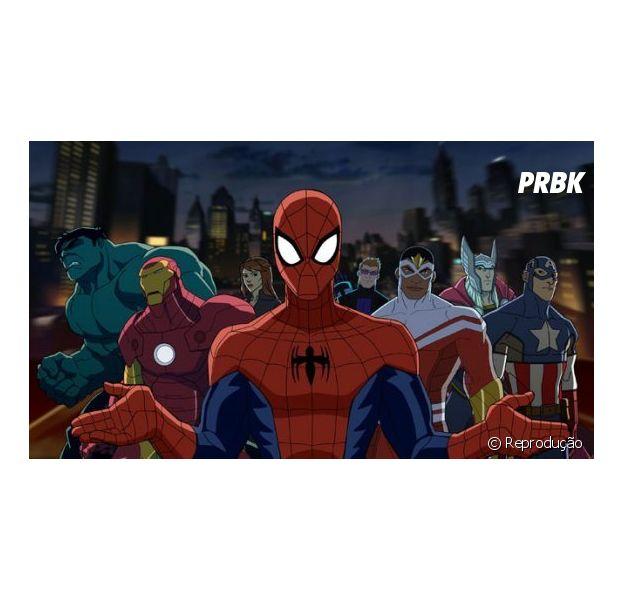 """Homem-Aranha vai aparecer em """"Os Vingadores"""""""