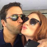 Marina Ruy Barbosa e Caio Nabuco aparecem apaixonados em selfie publicada no Instagram