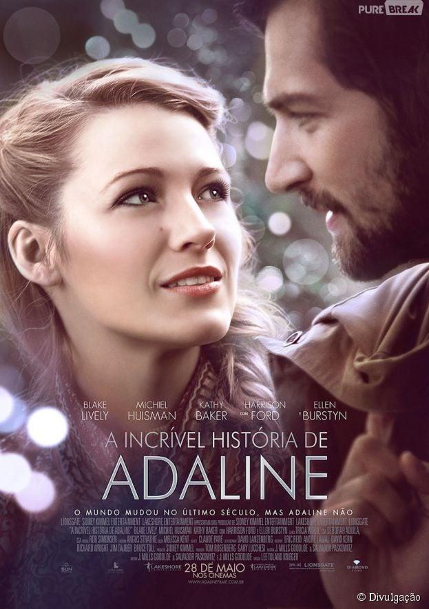 """Poster oficial de """"A Incrível história de Adaline"""""""