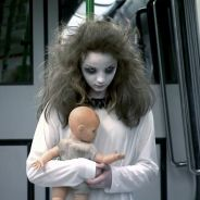 "No ""Programa Silvio Santos"", do SBT, Menina Fantasma mata todo mundo de susto no Metrô! Veja!"