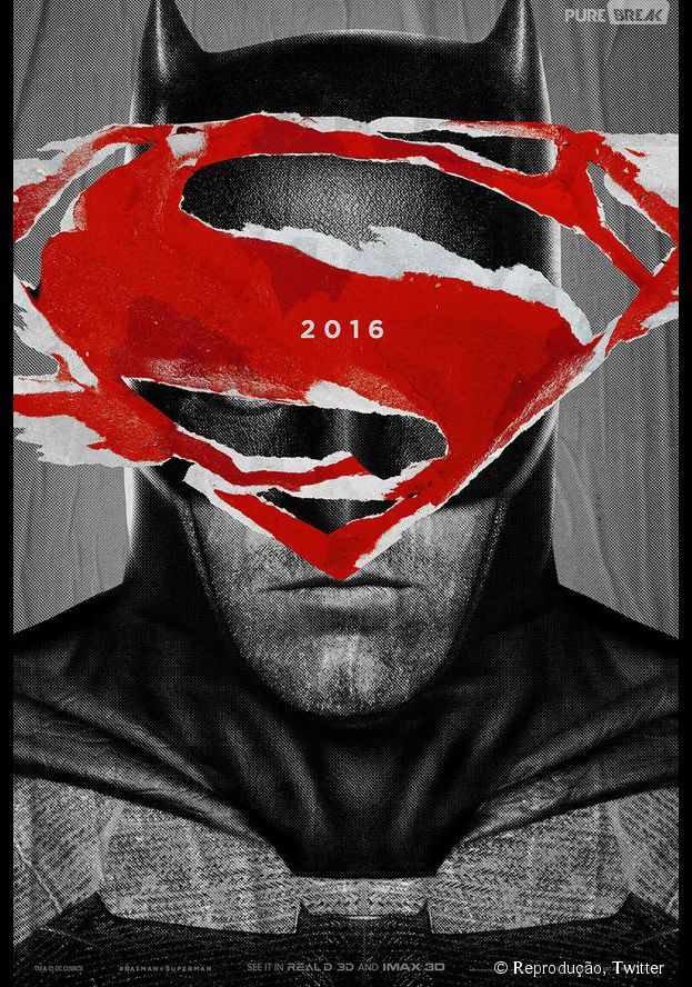 """O diretor Zack Snyder divulgou novos cartazes de """"Batman V Superman: A Origem da Justiça"""", em sua conta no Twitter"""