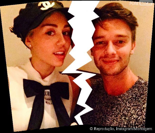 Miley Cyrus e Patrick Schwarzenegger terminaram seu namoro!