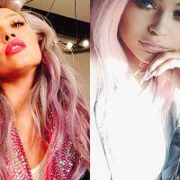 Kylie Jenner ou Hilary Duff? Quem ficou melhor com o cabelo rosa?