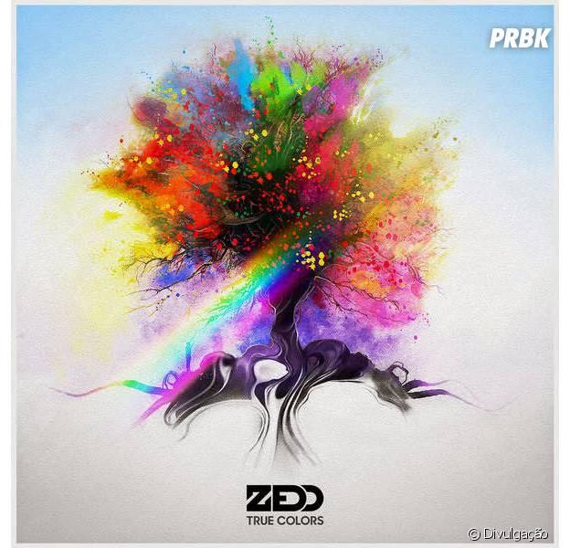 """Zedd divulga capa do seu novo CD, """"True Colors"""""""