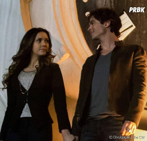 """Será que Damon (Ian Somerhalder) e Elena (Nina Dobrev) vão tomar a cura juntos em """"The Vampire Diaries""""?"""