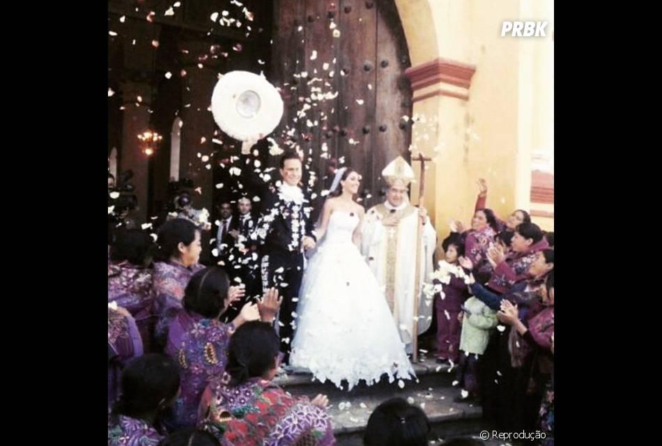 Sem nenhum Ex-RBD presente, a cerimônia de Anahi e Manuel Velasco contou com 100 convidados