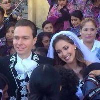 """Ex-RBD Anahi se casa com político mexicano e comemora: """"Momento mais feliz de nossas vidas"""""""