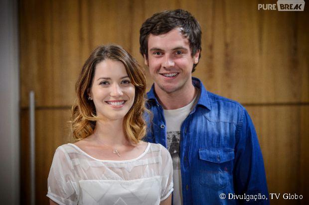 """O casal protagonista de """"Alto Astral"""" não tem muito carisma"""