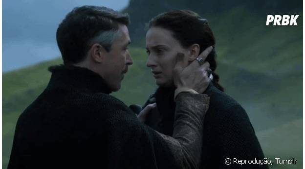 """Sansa e Mindinho, de """"Game of Thrones"""""""