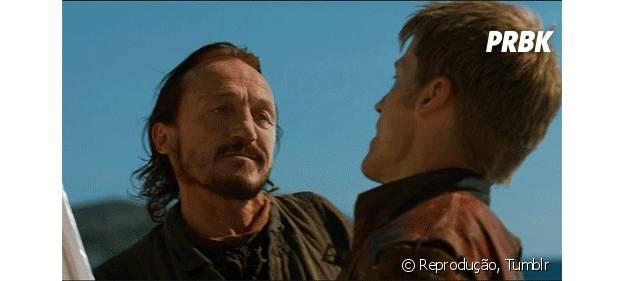 """Jaime e Bronn, de """"Game of Thrones"""""""