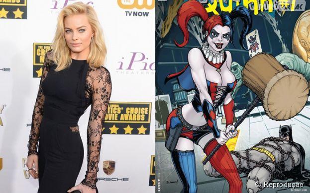"""Margot Robbie interpretará a vilã Arquelina no filme """"Esquadrão Suicida"""", que estreia nos cinemas em 2016!"""