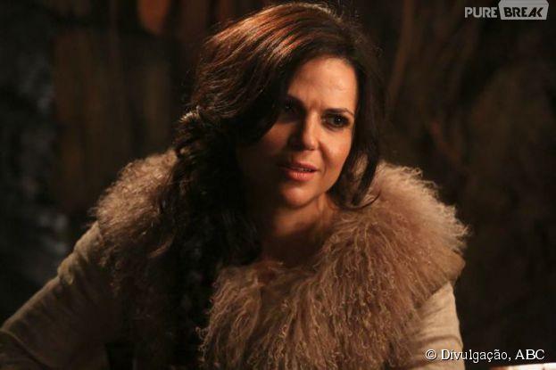 "Em ""Once Upon a Time"", Regina (Lana Parrilla) vai ficar boazinha"