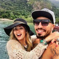 """Fernando e Aline, do """"BBB15"""", voltam a rebater críticas de Amanda: """"Importa o que sentimos"""""""