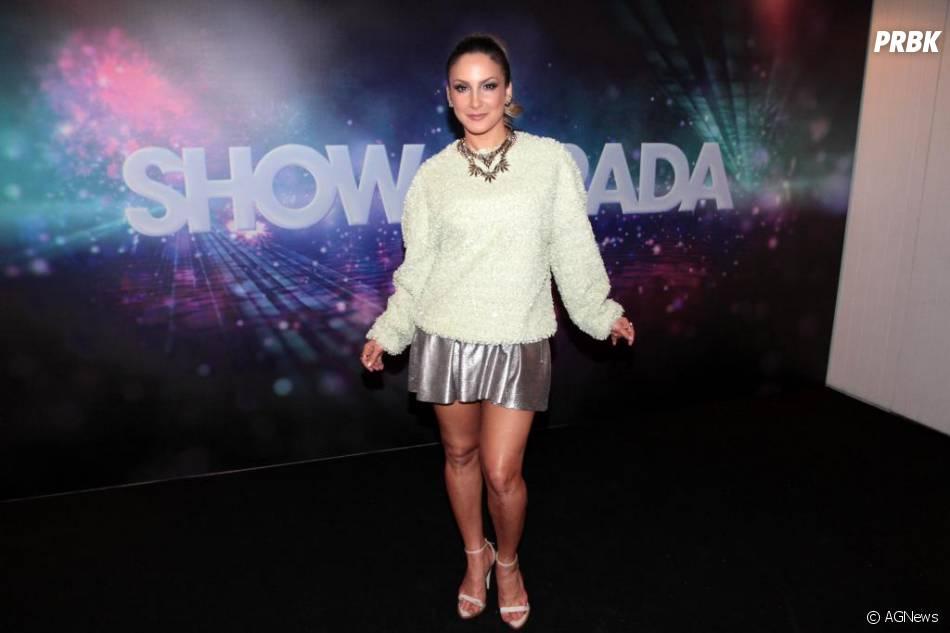 """Cláudia Leitte interpretou """"Meu Menino Jesus"""" em""""Natal Em Família"""""""