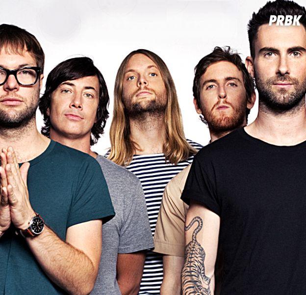 "Maroon 5 lança novo single para promover a turnê ""V World Tour"""