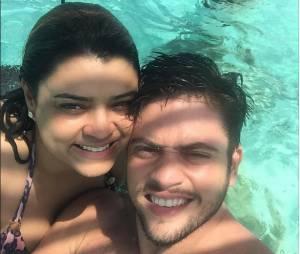 Preta Gil e Rodrigo Godoy passaram pelas Ilhas Maldivas durante a lua de mel do casal