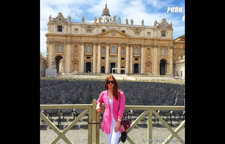 Marina Ruy Barbosa arrasou nos looks em viagem à Itália