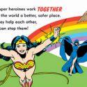 Super-Heroínas da DC-Comics estão com tudo em livro lançado para mostrar o poder das mulheres