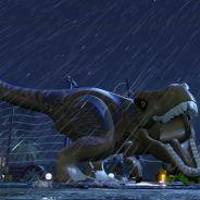 """Game """"Lego Jurassic World"""" ganha novo trailer apresentando o Parque do Dinossauros"""