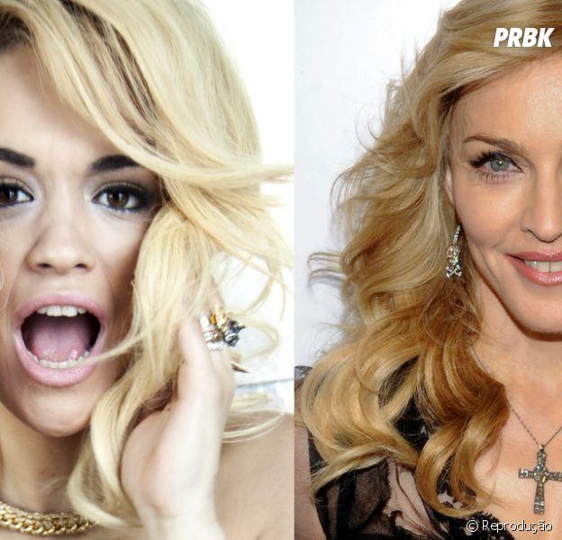 """Rita Ora deixa escapar segredo sobre o clipe """"Bitch I'm Madonna"""", da cantora Madonna"""