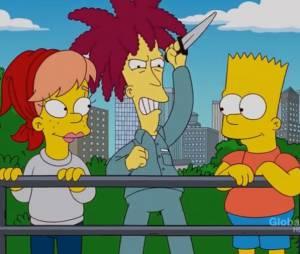 """Em """"Os Simpsons"""", Sideshow Bob chegou perto várias vezes de realizar seu sonho de assassinar Bart"""