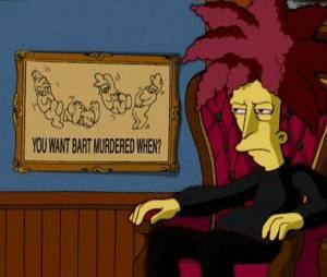 """Sideshow Bob já pensou em várias formas de matar o Bart em """"Os Simpsons"""""""