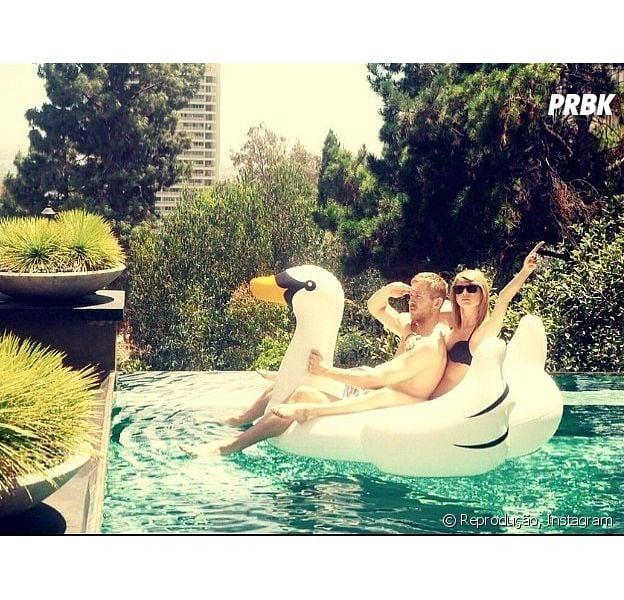 Taylor Swift e Calvin Harris estão namorando sim! Casal publica foto fofa no Instagram