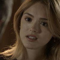 """Novela """"Sete Vidas"""": Júlia (Isabelle Drummond) conversa com Miguel e diz que não esqueceu Pedro"""