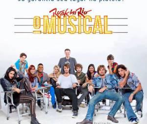 "Hugo Bonemer foi o protagonista Alef em ""Rock In Rio - O Musical"""
