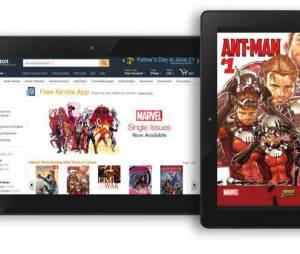 Marvel faz parcria com Amazon e adapta sua coleção de quadrinhos para Kindle