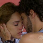 "Te contei? Na reta final de ""Sete Vidas"", Júlia (Isabelle Drummond) e Pedro se beijam!"