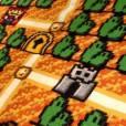 """O tapete de """"Super Mario Bros."""" tem cerca de 2,2 metros de comprimento e 1,8 metros de largura"""