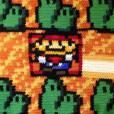 """E aí, teria de coragem de comprar ou fazer um tapete inspirado em """"Super Mario Bros.""""?"""