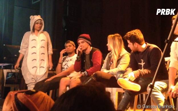 Apresentação de Sev7n e outros Youtubers no evento Vila Anime, no Rio de Janeiro