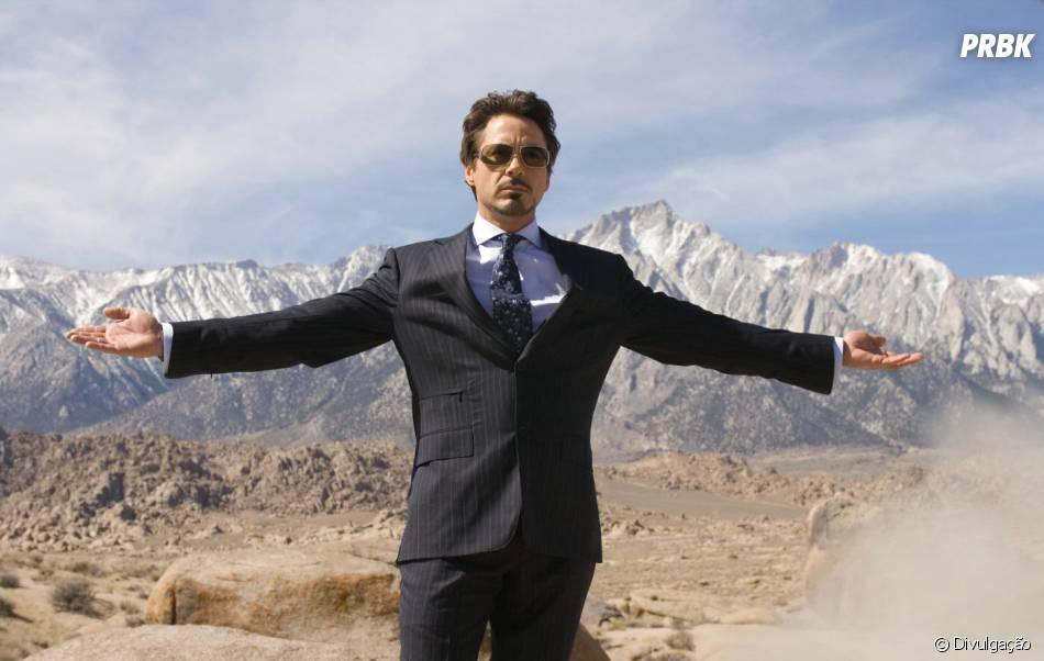 Robert Downey Jr. passou por um momento difícil, se recuperou e hoje é um dos ators mais bem pagos de Hollywood. Tá bom o quer mais?