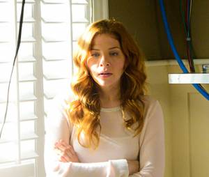 "Julia (Rachelle Lefevre) e Big Jim (Dean Norris) se unem em ""Under The Dome"""