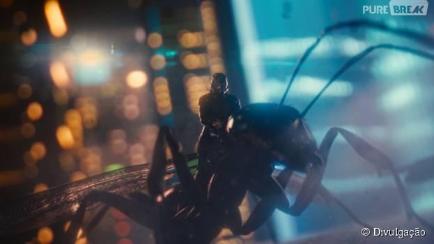"""""""Homem-Formiga"""" chegou aos cinemas brasileiros na última quinta-feira (16)"""