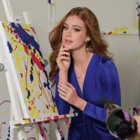 """Marina Ruy Barbosa, de """"Totalmente Demais"""", aparece toda sensual e com cabelão em ensaio de moda"""