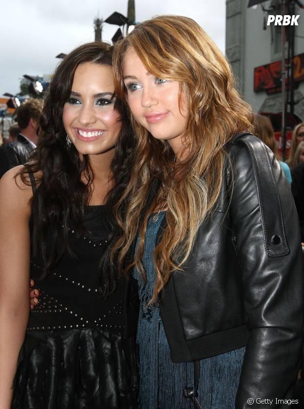 Demi Lovato e Miley Cyrus, quando eram amigas