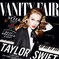 Taylor Swift posa deslumbrante para capa da revista Vanity Fair e arrasa no look poderoso!