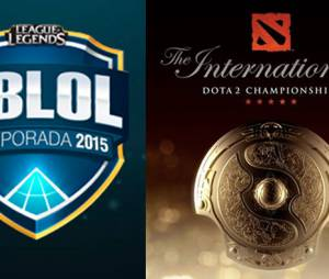 "Resultado da final do Campeonado Brasileiro de ""League Of Legends"" e do Internacional de ""Dota 2"""